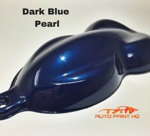 Dark Blue Pearl Basecoat With Reducer Gallon basecoat Only Car Auto Paint Kit