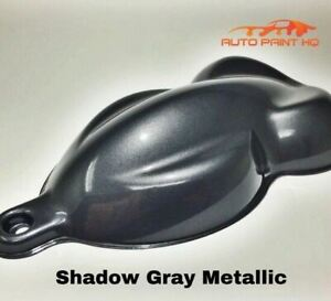 Gunmetal Shadow Gray Basecoat Reducer Gallon Basecoat Only Auto Paint Kit