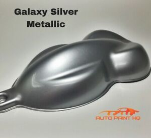 Galaxy Silver Basecoat With Reducer Gallon Basecoat Only Car Auto Paint Kit