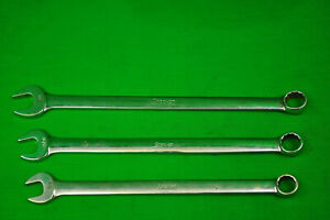 Snap On 3 Pc 12 Pt Oexl20 Oexl24 5 8 3 4 Wrenches