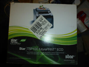 Star Micronics Tsp143iiu Eco Point Of Sale Thermal Printer