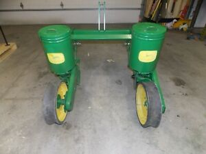 2 Row John Deere Flex Food Plot Corn Sunflower Soybean Planter Jd 70