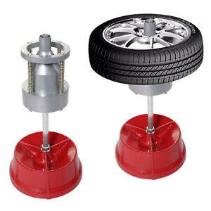 Portable Hubs Heavy Duty Rim Tire Cars Truck Wheel Balancer W Bubble Level Us