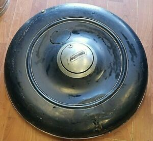 Antique Plymouth 1935 Spare Tire Wheel Cover Blue W Emblems We Ship