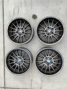 Bmw Style 32 Staggered Oem Wheels 17x8 17x9 5x120 Used