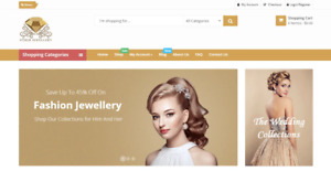 Amazon Affiliate Jewelry Store Business Website bronze Package