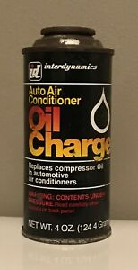 Interdynamics Id Auto Air Conditioning Oil Charge Can