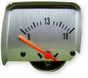 American Autowire Voltmeter Ammeter Replacement Gm F Body 1968 69 P N 510121