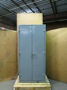 Strong Hold Stronghold 2 Door 4 Shelf 36 Heavy Duty Storage Cabinet 78x36x21