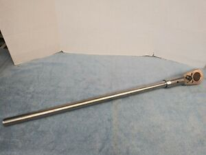Stahlwille 882 Ratchet 1 Drive W 888 Handle One Inch Made In Germany Nice