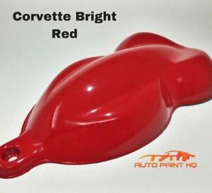 Corvette Red Basecoat Reducer Quart basecoat Only Motorcycle Auto Paint Kit