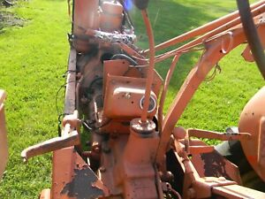 Allis Chalmers Wd45 Shifter Tower