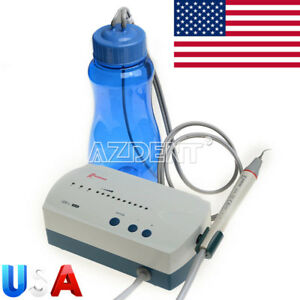 Usps Dental Woodpecker Fiber Optic Handpiece Uds l Led Ultrasonic Scaler