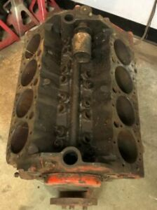1960 Chevrolet Chevy 283 Engine Block 3756519 Crank 4 Bbl Intake 2 Sets Of Heads