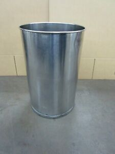 55 Gal gallon 304 Stainless S s Open Top Barrel Drum no Lid