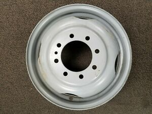 New Accuride 28348 16 5 X 6 0 Ford 8 lug Flat face Dually Steel Wheel Nla