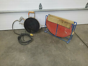 Mcelroy Heater Plate Pipe Fusion Machine W Heater Bag Stand Up To14 Diameter