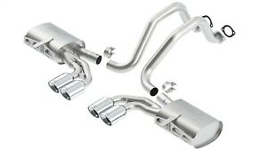 Borla 140428 Atak Cat back Exhaust System Fits 97 04 Corvette