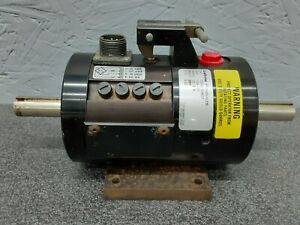 Lebow 1104 100 Torque Sensor Rotary Shaft Transducer 100 Lbs In 9000 Rpm