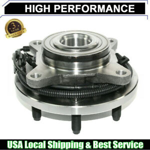Front Wheel Hub Bearing For 2011 2013 Lincoln Navigator Rwd With Abs Sensor