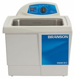 Branson Ultrasonic Cleaner 2 5 Gal Tank Timer Range 0 To 99 Min Continuous