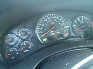 03 Chevy Monte Carlo Ss Jeff Gordon Instrument Gauges 140 Mph Tach Race Nascar