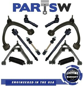 Front Upper Lower Control Arm Sway Bar For Chevy Silverado Gmc Sierra 1500 Tahoe