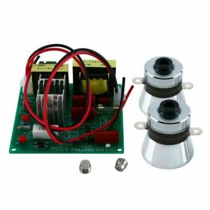 New Power Driver Board 2pcs 50w 40khz Ultrasonic Cleaning Transducer Cleaner