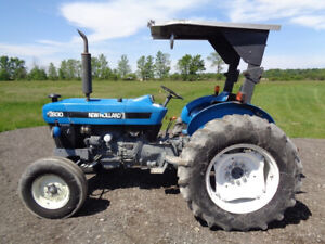 1996 New Holland 3930 Tractor 2wd Orops W Sunshade 1 Remote 1 328 Hours