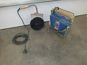 Mcelroy Plate Pipe Fusion Machine Heater W Bag Stand Up To 10 Diameter