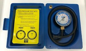 Ritchie Yellow Jacket Gas Pressure Test Kit Gauge Excellent
