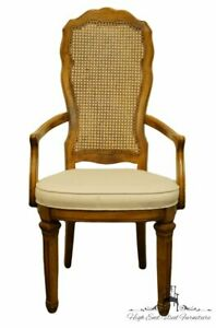 Stanley Furniture Seville Collection Spanish Mediterranean Style Cane Back Di