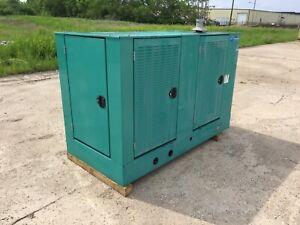 Cummins 75 Kw Propane Nat Gas Generator 37 Hours Load Tested