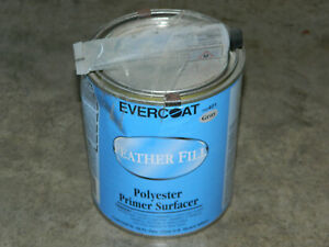 1 32 Oz Evercoat 100401 Gray Feather Fill Polyester Primer Surfacer