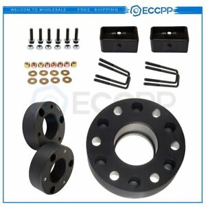 6x 2 6x5 5 Wheel Spacers 3 Front 2 Rear Leveling Lift Kit For Chevrolet