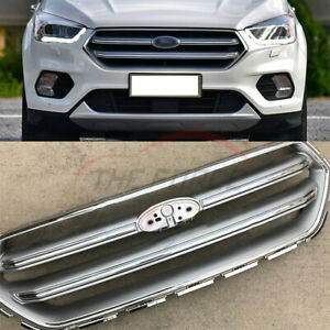 Front Bumper Vent Grilles Chrome Grill For Ford Ecosport 2017 2018 Tsy2 35