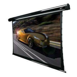 84 In Projector Screen Electric Tension Projection Electric Motorized Theater
