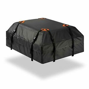 Zone Tech Car Rooftop Waterproof Travel Cargo Bag 15 Cubic Ft Organizer Carrier