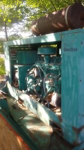 Generator Onan L634 6 Cyl With Onan Diesel With Trailer Maryland