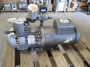 Gast Pump With Electric Motor M n 2567 p102 520150b Parts Only