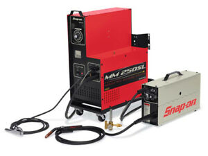 Snap On muscle Mig Wire Feed Welder 185 Amp Mm250sl