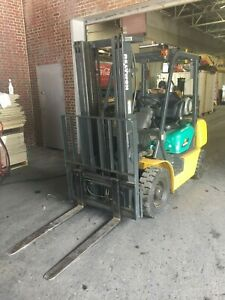 Komatsu Forklift Model Fg25t 14 Only 4616 Hours In Excellent Condition Used