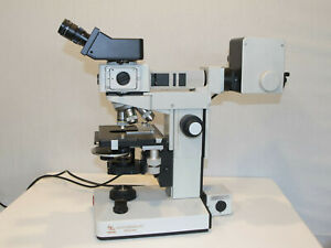Leitz Laborlux 12 Microscope With Epi Fluorescent Hoffman Modulation