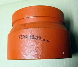 Gruvlok Concentric Reducer 7087 3 G fem Adapter 41x5 Grooved Threaded