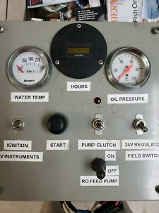 Custom Made Generator Panel For Front Power Take Off Used See Pictures