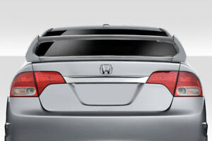 06 11 Honda Civic 4dr Duraflex Type M Wing Spoiler 4 Pc 114280