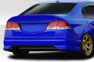 06 11 Honda Civic 4dr Duraflex Csl Wing Spoiler 1 Pc Jdm Civic Only 114278