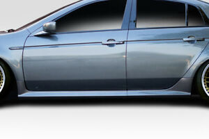 04 08 Acura Tl Duraflex Aspec Look Side Skirts 2 Pc 114498