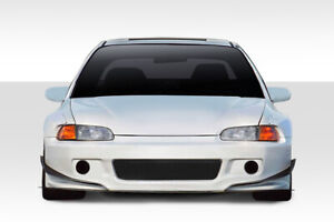 92 95 Honda Civic Duraflex Tko Rbs Wide Body Front Bumper Cover 114894