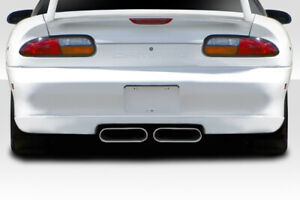 For 93 02 Camaro Duraflex Le Designs Center Mount Exhaust Rear Lip 107711